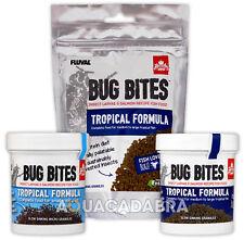 Fluval Bug Bites - Tropical 45g 125g Natural Insect Fish Food Aquarium Tank