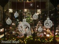 Extra Large Christmas Ball Show Window Shopwindow Wall Art Decoration Sticker