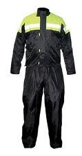 MTECH Motorbike 2 PC Rain Suit Wet Weather Rain Jacket Trouser Pants Suit
