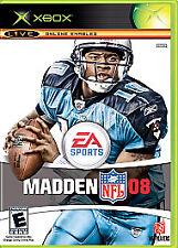 Madden Nfl 08 (Microsoft Xbox, 2007) Used