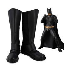 Bruce Wayne Batman The Dark Knight cosplay Shoes Boots Custom-Made 4018