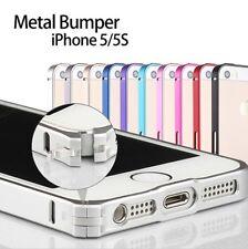 Apple iPhone SE 5S 5 CNC-Aluminium Bumper  Schutz Tasche Handy Hülle Case Cover