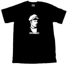 The Wild One Marlon Brando T-SHIRT ALL SIZES # Black