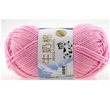 Double Chunky Crochet Knitting Yarn Wool yarn Baby Milk cotton fiber hand 50g