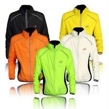 FAST Windproof Mens Winter Long Sleeve Cycling Jacket Jersey Bike Wind Rain Coat