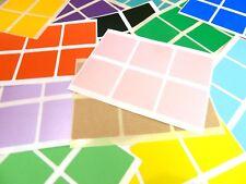 37 mm carré (1.5 pouces) Code couleur Autocollants colorés Sticky Labels - 32 Couleurs