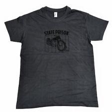 State Prison Dock 66 t-shirt gris Grey unisex cuello redondo