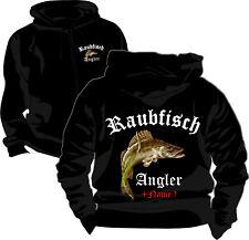 Angler Angeln Kapuzenjacke Pullover T-Shirt Poloshirt Zander Raubfischangeln 243