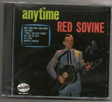 """RED SOVINE, CD """"ANYTIME"""" NEW SEALED"""
