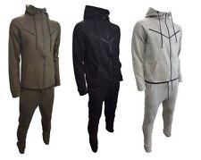 Hommes Passepoil Contrasté Survêtement Sweat & Slim Fit Jogging Pantalon S-XL