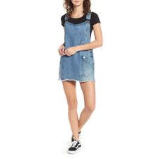 Vestito Jeans Obey Debs Overall Dress Indigo