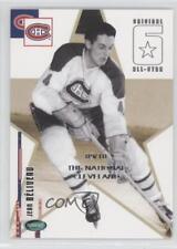 2003-04 Parkhurst Original Six Montreal Canadiens #63 Jean Beliveau Hockey Card