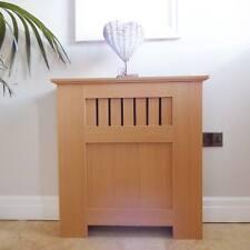 Radiador de madera de roble estilo moderno MDF Gabinete De Cubierta Del Panel Parrilla