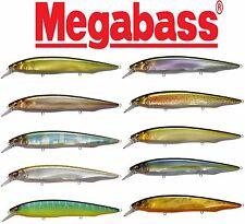"Megabass Kanata 6 1/3"" - 1 oz. Shallow Jerkbait Premium Japanese Bass Lure"
