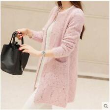 Women spring autumn Korean fashion loose Ms. knitting cardigan  sweater coat SY1