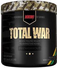 REDCON1 TOTAL WAR USA Pre Workout Crazy Strong Intense Energy Focus Pump 30 Serv