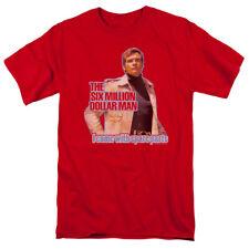 Six Million Dollar Man Spare Parts T-shirts for Men Women or Kids