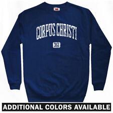 Corpus Christi 361 Sweatshirt - Texas Tejano Hooks Icerays Crewneck - Men S-3XL