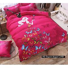 Set Letto Copri Piumone Lenzuolo Federe Copripiumone Duvet Cover Set BED0019