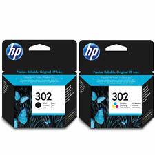 HP302 Negro & Color Original Cartuchos de tinta de impresora HP F6U65AE