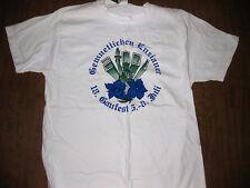 GEMUETLICHEN ENZIANER large T shirt 2001 German dance group NYC