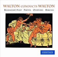 CD WALTON CONDUCTS WALTON BELSHAZZAR'S FEAST PARTITA OVERTURES MARCHES CROWN ETC