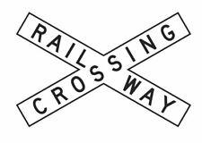 RAILWAY CROSSING R6-24 Road Sign
