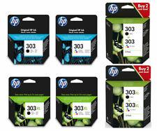 Original HP 303 / 303XL Black & Colour Ink Cartridge ENVY Photo 7130 Printer Lot