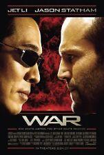 """WAR - 14""""x20"""" Original Promo Movie Poster MINT - Jet Li"""