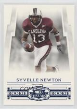 2007 Donruss Threads Century Proof Blue #224 Syvelle Newton South Carolina Card