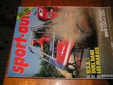 Sport auto avec poster n°229 JS17 MonteCarlo Dakar 1981