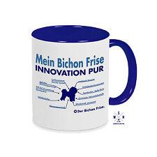 TAZZA di caffè Tazza innovazione Bichon fili a trecce e elenco parti CANE CANI siviwonder