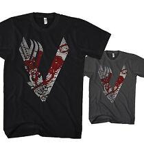 Herren T-Shirt Vikings King Ragnar Lodbrok Valhalla Ivar Odin Neu S-5XL VK1217