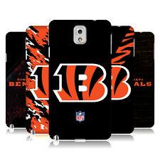 OFFICIAL NFL Cincinnati Bengals Logo HARD BACK CASE per Samsung Telefoni 2