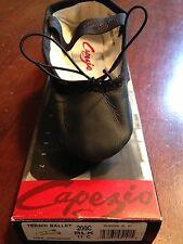 NIB!!!  Black Capezio Teknik Ballet Shoe - whole or half sizes 10.5c - 6c!