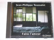 CD AUDIO / JEAN PH. TOUSSAINT / FAIRE L'AMOUR / TRES BON ETAT