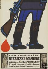 Soldier blue Ralph Nelson vintage movie poster 1