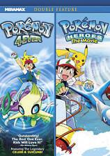 Pokemon 4Ever/Pokemon Heroes (DVD, 2011)