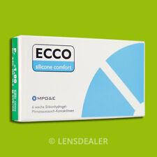 »» ECCO SILICONE COMFORT 6er BOX MPG&E KONTAKTLINSEN MONATSLINSEN +/- Werte ««