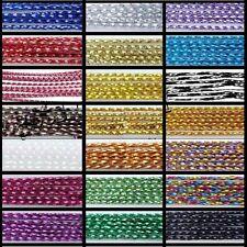 100 Mtrs 0.8 mm Metálico Cable / Craft la fabricación de joyas-Reino Unido Vendedor