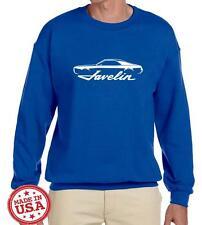 1968 1969 AMC Javelin Muscle Car Classic Outline Design Sweatshirt NEW
