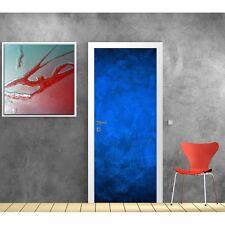 Papier peint porte Bleu 607