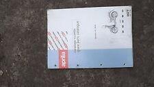 aprilia scarabeo 100 book manual parts book genuine