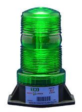 BS1 9-80V AC/DC GREEN STROBE XENON FORKLIFT EMERGENCY WARNING LIGHT BEACON