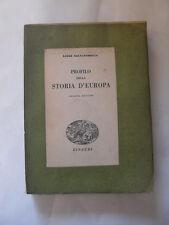 SALVATORELLI PROFILO DELLA STORIA D'EUROPA ED. EINAUDI 1944