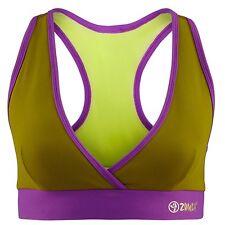 ZUMBA FITNESS DANCE RACERBACK TOP V Sports BRA Top -fr.Convention -Yoga Crossfit