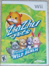Nintendo Wii - Zhu Zhu Pets Featuring the Wild Bunch
