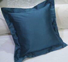 Classic European Cushion Cover Silver Grey, Peal Ivory, Black, Aqua Blue