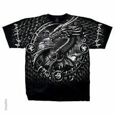Dragon Dreamcatcher Mythological Mythology Fairytail Fantasy Mens T Shirt M-2Xl