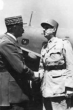 WW2 - De Gaulle et Giraud se rencontrent en AFN en Mai 1943